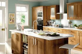 shaker kitchen ideas it westleigh walnut effect shaker diy at b q