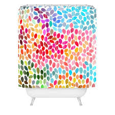 garima dhawan rain 6 shower curtain deny designs home accessories