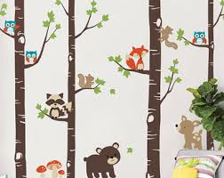 Animal Wall Decals For Nursery Wall Decals Nursery Etsy
