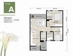 single storey bungalow floor plan floor plans of bloom gardens furthermore single storey bungalow