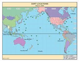 Dart Dallas Map Tsunami Warning System Budget Slashed By Obama Administration On