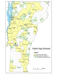 Map Vermont Public High Choice Agency Of Education