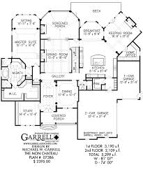 Chateau Home Plans Mon Chateau House Plan House Plans By Garrell Associates Inc