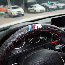 volante bmw x3 m power m carbon fiber sport car steering wheel cover size m