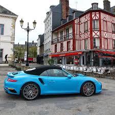 detroit 2016 porsche 911 carrera s cabriolet gtspirit rocking miami blue in normandy porsche porsche911 porscheturbo