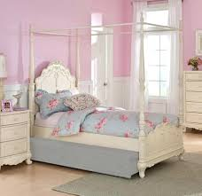 twin canopy bed frame canada for sale room cherry wood