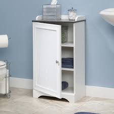 bathroom cabinets sauder caraway floor cwhite bathroom storage