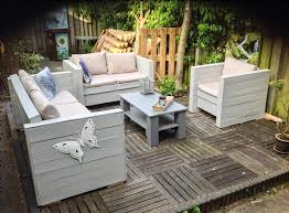Patio Furniture Made With Pallets - pallet outdoor furniture practical yet chic ideas