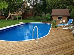 semi inground pools rideau pools