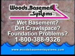 Wet Basement Systems - woods basement systems commercial youtube