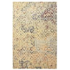 flooring cool and chic ikat rug design for your living space