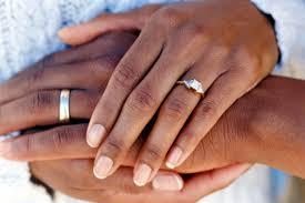 Wedding Ring Finger by Trendy Wedding Ring On Black Finger 6 Nationtrendz Com