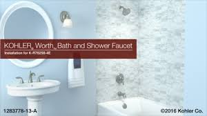 installation u2013 worth bath and shower faucet youtube