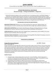 engineering resume template mechanical engineering resume templates complete representation for