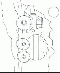 construction vehicles coloring book pages