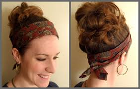tie headbands tie as a headband forerunnerfashion