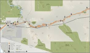 Map Of Yuma Arizona by Anza Trail Guide Yuma