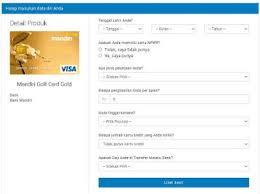 persyaratan buat kartu kredit hsbc syarat kartu kredit mandiri dan cara membuat nya 2018