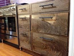 Dark Walnut Kitchen Cabinets by Black Walnut Kitchen Cabinets Back To Work On Kitchen After A