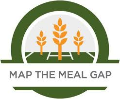map logo hunger poverty in the united states map the meal gap