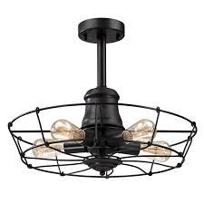 retro cage semi flush ceiling light shades light