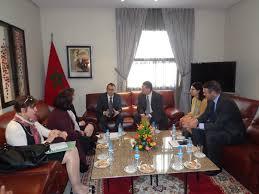 chambre d h el avec belgique m karim ghellab s entretient avec la présidente du groupe