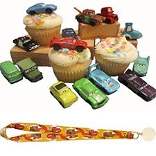 cars cake toppers disney cars cake cupcake toppers decorations favors