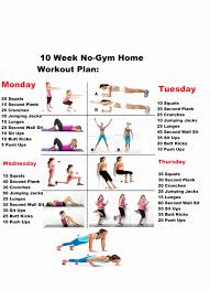 at home fitness plan best of cardio workout plans house floor