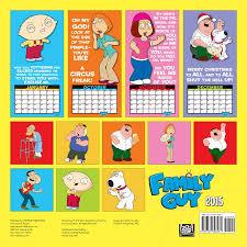 design wall calendar 2015 family guy 2015 wall calendar