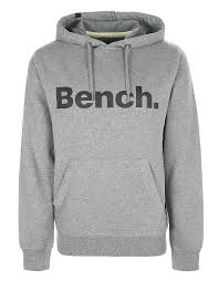 bench clothing mens lyst bench logo graphic hoodie in gray for men