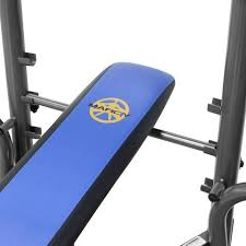 Marcy Standard Weight Bench Review Marcy Standard Bench W 80lb Weight Set Mwb 36780b Walmart Com