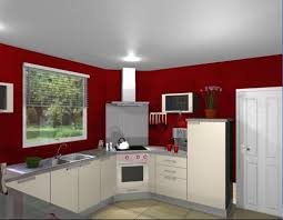 mur cuisine framboise davaus cuisine blanche mur framboise avec des idées