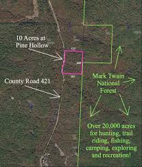 instant acres parcels 10 acre tract directly bordering over