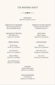 simple wedding program templates the 25 best wedding program sles ideas on how to