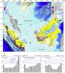 Monsoon Asia Map by A Geological Map Of Tropical Southeast Asia Modi Fi Ed After