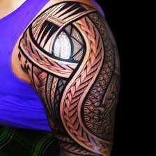 19 best maori arm tattoos designs images on