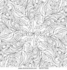 pattern coloring pages for adults coloring pages adults older children vector stock vector 462210691