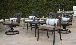 awesome cast aluminum patio furniture home d 123