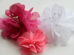 fabric flowers make 20 different fabric flowers