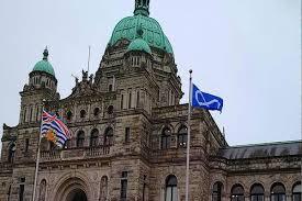 Flag British Columbia Metis Flag Raised At B C Legislature Sylvan Lake News