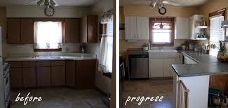 painting kitchen cabinets white diy more like home painting cabinets diy