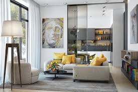 amazing yellow and silver living room designs silver and grey