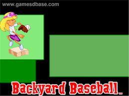 humongous entertainment backyard baseball backyard landscaping
