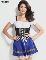 Peasant Halloween Costume Cheap German Halloween Costumes Aliexpress
