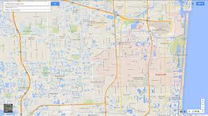 A Map Of Florida Saint Augustine Florida Map Map Of Saint Augustine City Florida