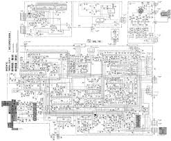 sony kvm1400k tv d service manual free download schematics