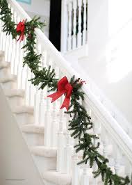 Banister Christmas Garland 178 Best Entrance Images On Pinterest Vintage Christmas