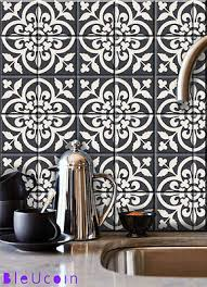 kitchen backsplash decals set of six 4 vinyl tile decals ornate baroque style accent kitchen