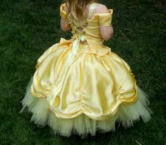 yellow princess dress custom made in sizes 2t5t by dressnup