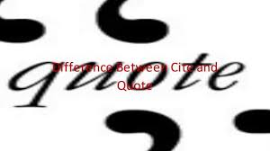 quote blockquote html difference between cite and quote youtube